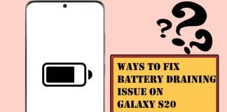 Ways to Fix Battery Draining Issues on Galaxy S20, S20 Ultra, S20