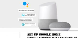 Set up Google Home with Samsung Galaxy Note 10 and Note 10Plus