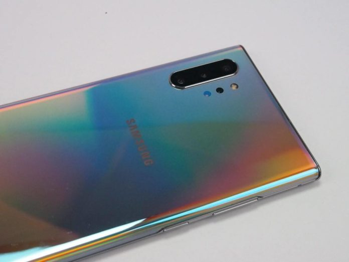Customize Power button in Galaxy Note 10