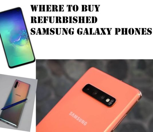 Best Place to buy refurbished samsung galaxy S10