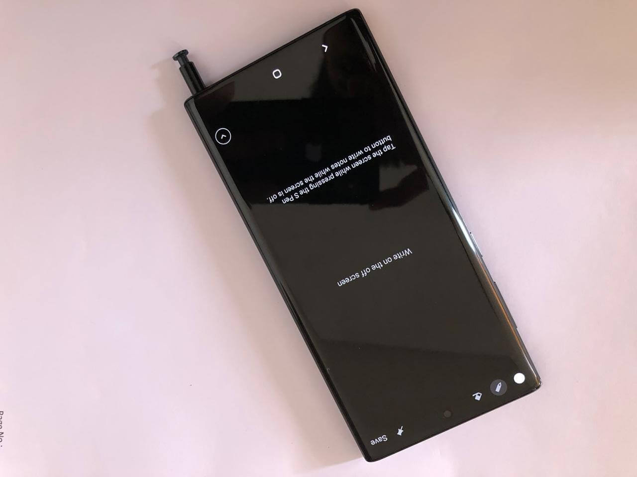 Note Buddy App not working on Note 10