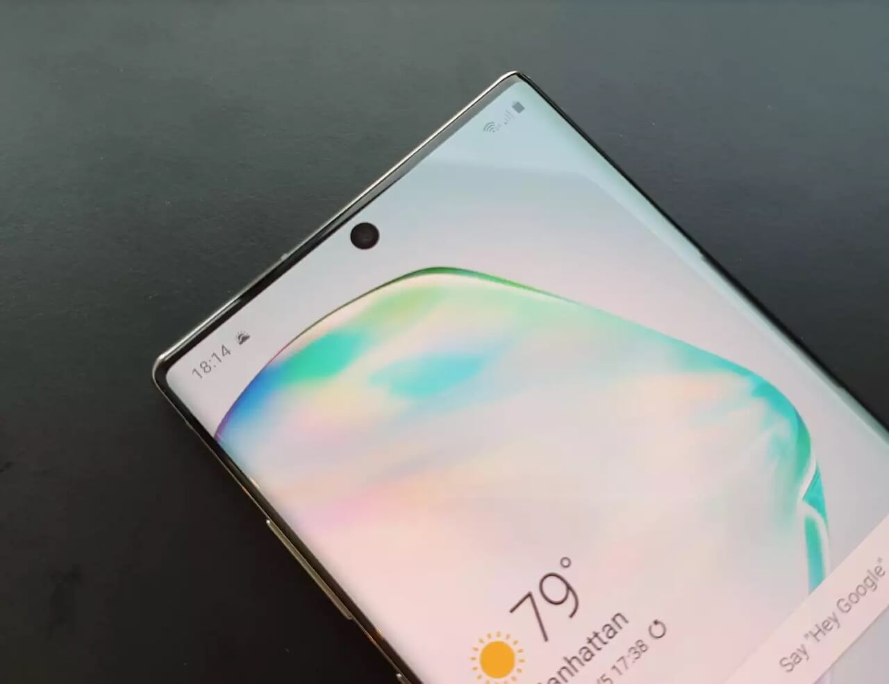 Screen burn-in issues on Samsung Galaxy Note10Plus