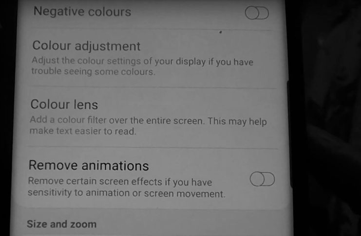 Reduce animations on S10, Note 10, Note 10Plus, S10Plus, S10e