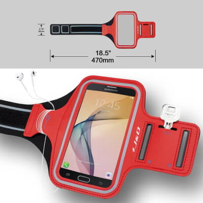 J&D Running Band with Key Holder