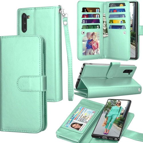 Tekcoo Samsung Note 10 Wallet Case
