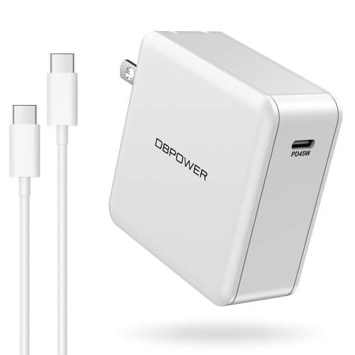 DBPOWER 45W Wall Charger with Power Delivery for Samsung