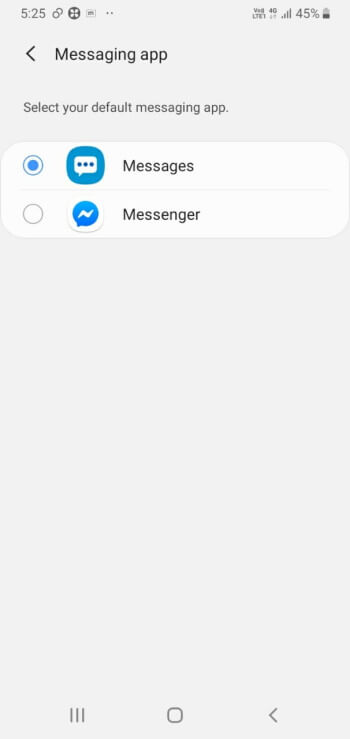 Select Google Messages