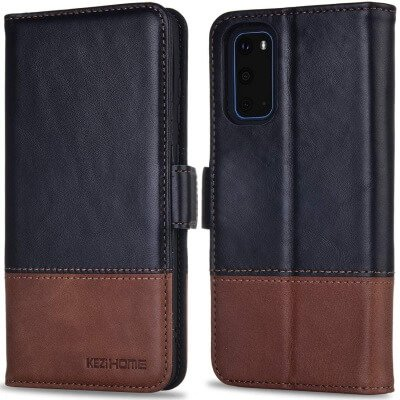 KEZiHOME Wallet Leather Cover
