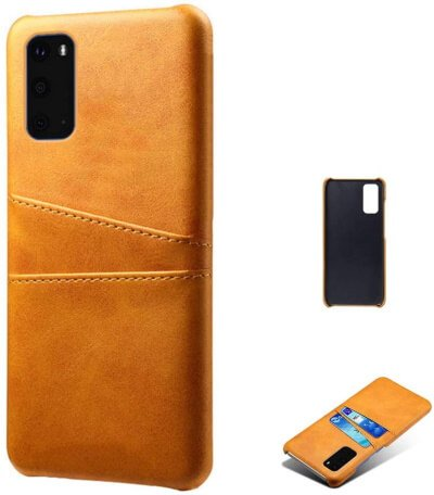 Leather Back Cover for Galaxy S20Plus