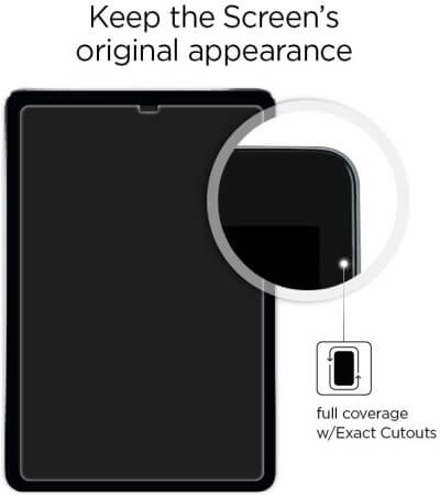 Spigen Tempered Glass Screen Protector for Tab S6