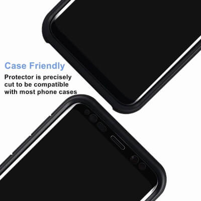 ZIFA Case Friendly Anti-Spy Screen Guard for S20
