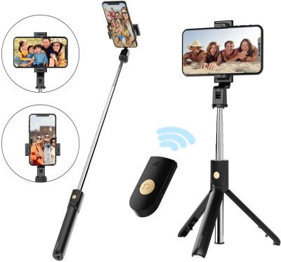 Wireless Extendable Selfie Tripod