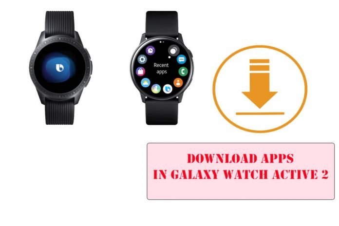 Download Apps in Galaxy Watch Active 2