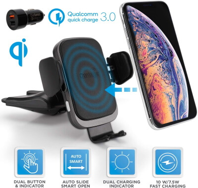 CHARGENIUS Auto Clamp Car Charger