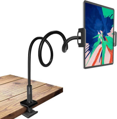 Cellet Flexible Gooseneck Tab and Phone Holder