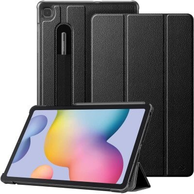 Fintie - Best Slim Case for Galaxy Tab S6 Lite with S Pen Holder