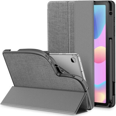 INFILAND - Trifold Case Cover for Tab S6 Lite