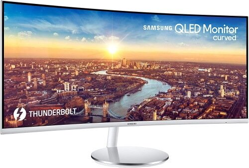 Samsung QLED Curved Gaming Monitor (34-inch)