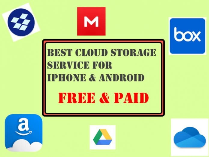 Best Cloud Storage Service for iPhone and Android in 2020