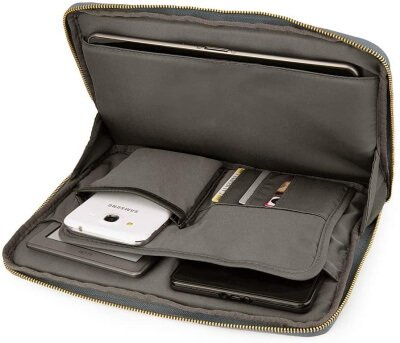 ECCRIS Sleeve Case with Accessories Compartment