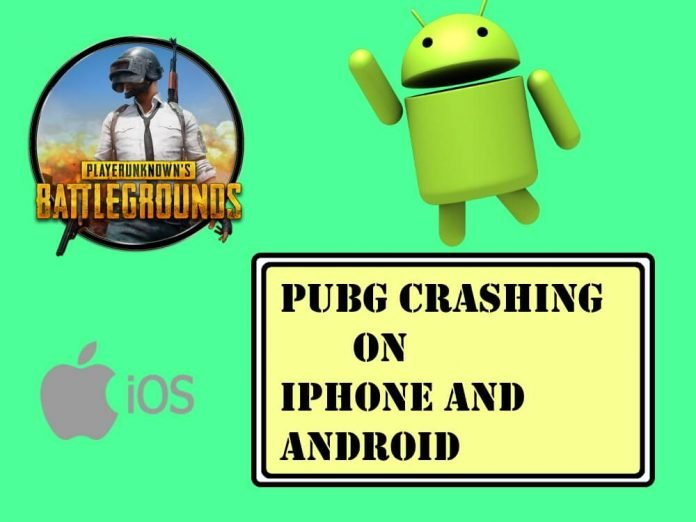 PUBG Crashing on iPhone and Android