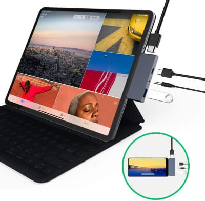 sendcool USB-C Hub for Tablets in 2020