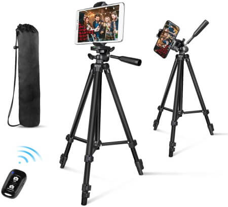 Aureday Adjustable and Extendable Tripod