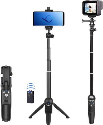 BZE 40-inches Extendable Selfie Stick Tripod