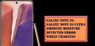 Fix Galaxy Note 20, Note 20 Ultra Showing Moisture Detected Error While Charging