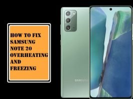 Fix Samsung Note 20 Overheating and Freezing