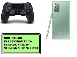 How to Pair PS4 Controller to Samsung Note 20 and Note 20 Ultra