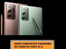 How to Reset Forgot Password PIN Pattern on Samsung Note 20, Note 20 Ultra