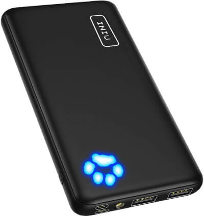INUI Ultra-Slim Dual 3A Portable Charger
