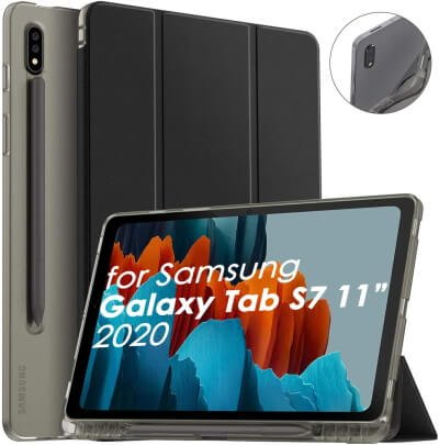Supveco Shockproof Slim Case for Tab S7 Plus and Tab S7