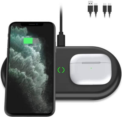 Yootech Cheap Dual Wireless Charging Stand