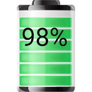 Battery Widget % Level Indicator