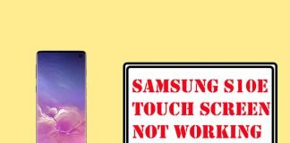 Fix Samsung S10e Touch Screen Not Working Quick Solutions