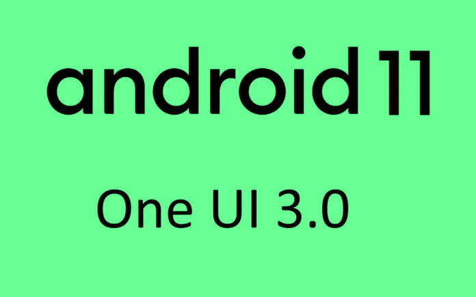 Android 11 and One UI 3