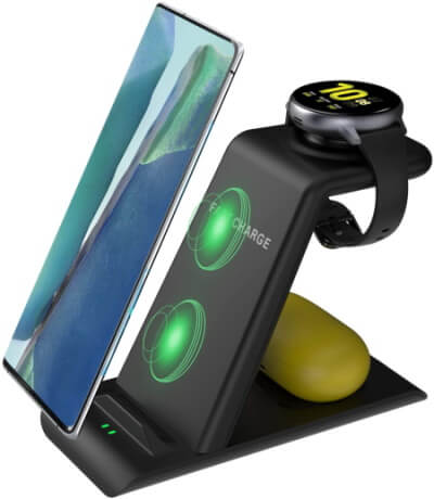 Kartice 3 in 1 Wireless Charger Station